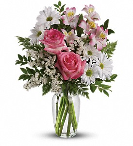 What a Treat Bouquet with Roses in St. Helens OR, Flowers 4 U & Antiques Too