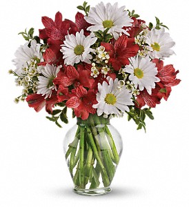 Dancing in Daisies in Bowmanville ON, Bev's Flowers