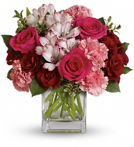 Pink Passion in Quincy MA, Fabiano Florist