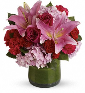Fabulous in Fuchsia in Largo FL, Rose Garden Florist