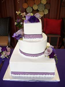Wedding Cake in Arcata CA, Country Living Florist & Fine Gifts