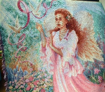 Angel Throw in Evansville IN, Cottage Florist & Gifts