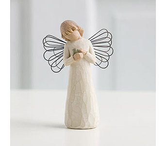 Willow Tree Angel: Angel of Healing in Santa Claus IN, Evergreen Flowers & Decor