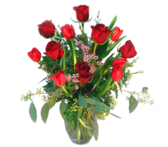 Tulips and Roses in Bend OR, All Occasion Flowers & Gifts