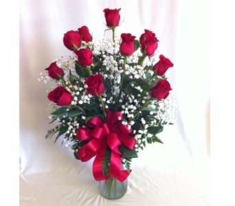 Dozen Red Roses in Canton TX, Billie Rose Floral & Gifts