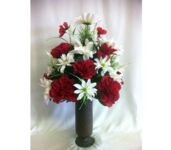Red & White Mix in Canton TX, Billie Rose Floral & Gifts