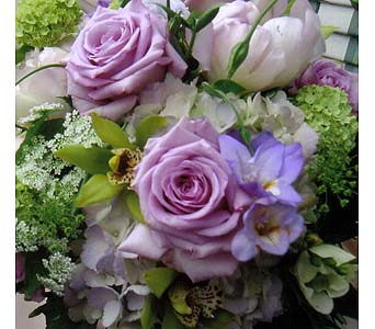LILAC CUT BOUQUET in Victoria BC, Fine Floral Designs