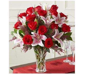 Valentine Splendor�in Lenox� Crystal in Woodbridge VA, Brandon's Flowers