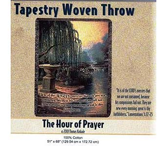 The Hour of Prayer Throw in Louisville KY, Hedman's Suburban Florist