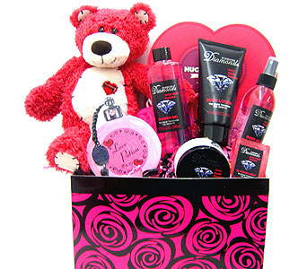GB333 ''Playful Pampering'' Bath & Body Gift Set in Oklahoma City OK, Array of Flowers & Gifts
