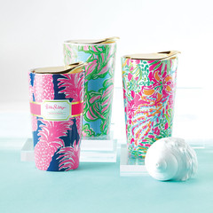 Lilly Pulitzer Travel Mugs in Knoxville TN, The Flower Pot