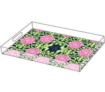Lilly Pulitzer Personalized Large Tray  in Knoxville TN, The Flower Pot