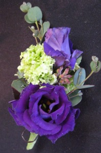 Purple Lisianthus in Farmington CT, Haworth's Flowers & Gifts, LLC.
