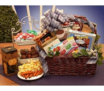 Flowers usa all sugar free goodies basket from stanleys florist stanleys usasend nationwide flower delivery negle Choice Image
