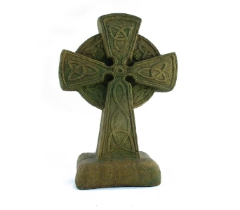 Celtic Cross Painted (Metro-Detroit Area Only)  in Southfield MI, Thrifty Florist