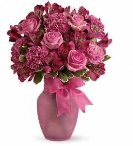 Pink Blush Bouquet in Hamilton ON, Joanna's Florist