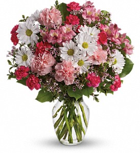 Teleflora's Sweet Tenderness in Newburgh NY, Foti Flowers at Yuess Gardens