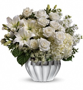 Teleflora's Gift of Grace Bouquet in Dubuque IA, New White Florist