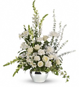 Serene Reflections Bouquet in Royersford PA, Three Peas In A Pod Florist
