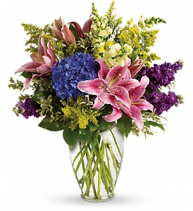 Love Everlasting Bouquet in Hendersonville NC, Forget-Me-Not Florist