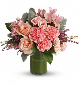 Polished Pinks in Detroit and St. Clair Shores MI, Conner Park Florist