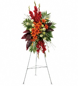 A New Sunrise Spray in Benton Harbor MI, Crystal Springs Florist