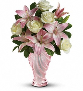 Teleflora's Blissful Blooms Bouquet in Winston Salem NC, Sherwood Flower Shop, Inc.