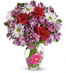 Teleflora's Blooms of Love Bouquet in Oklahoma City OK, Array of Flowers & Gifts