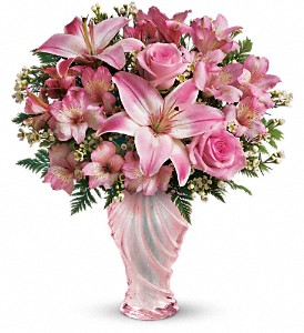 Teleflora's Charm & Grace Bouquet in Winston Salem NC, Sherwood Flower Shop, Inc.