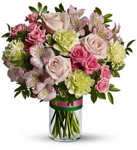 Priscilla Pink Bouquet in Orleans ON, Crown Floral Boutique