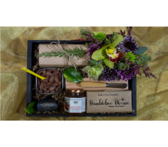 Bee Friendly Gift Crate in Reno NV, Bumblebee Blooms Flower Boutique