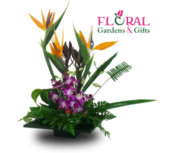 Tropical Sunset in Palm Beach Gardens FL, Floral Gardens & Gifts