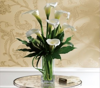 White Callas in Bradenton FL, Ms. Scarlett's Flowers & Gifts