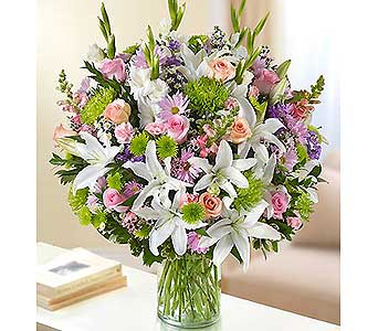 Ultimate Elegance - Multicolor Pastel in Palm Desert CA, Milan's Flowers & Gifts