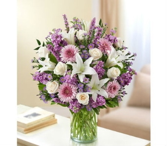 Ultimate Elegance - Lavender and White in Palm Desert CA, Milan's Flowers & Gifts