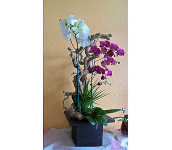 Flower-Arrangement 34(H)X25(W) in Rowland Heights CA, Charming Flowers
