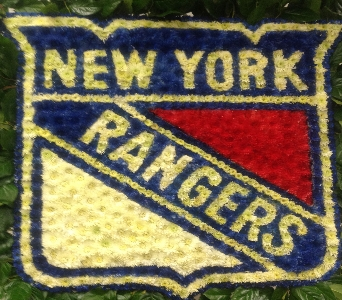 NEW YORK RANGER LOGO in Brooklyn NY, Parkway Flower Shop