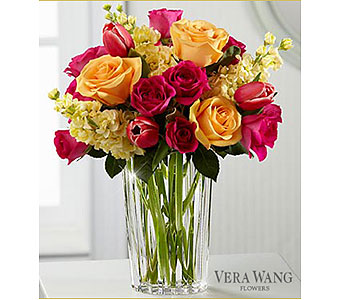 Beauty and Grace by Vera Wang in Pompano Beach FL, Pompano Flowers 'N Things