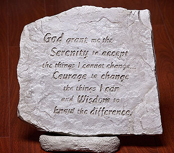 Serenity Prayer in Owensboro KY, Welborn's Floral Company