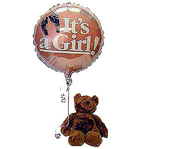 Its-a-Girl-Bear in San Clemente CA, Beach City Florist