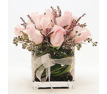 Ladys-Pretty-in-Pink in San Clemente CA, Beach City Florist