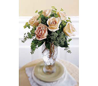The-FTD-Sun-Blushed™-Rose-Bouquet in San Clemente CA, Beach City Florist