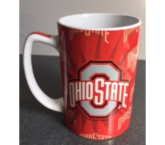 OSU Sunshine Mug in Columbus OH, OSUFLOWERS .COM