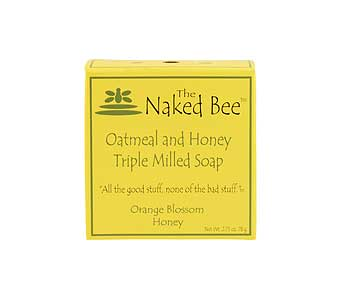 Naked-Bee-Oatmeal-Honey-Triple-Milled-Soap in Tullahoma TN, Tullahoma House Of Flowers