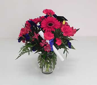 Plainfield High School Graduation Bouquet in Indianapolis IN, Gillespie Florists