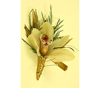 Boutonniere - Cymbidium Orchid in Mission Viejo CA, Conroy's Flowers