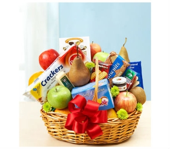 Fruit and Gourmet Basket in Bradenton FL, Ms. Scarlett's Flowers & Gifts