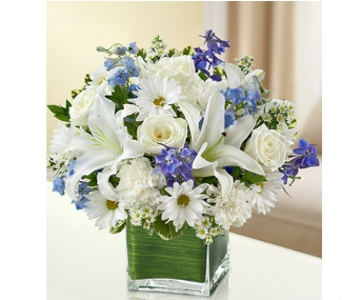 Healing Tears - Blue and White dans Watertown CT, Agnew Florist