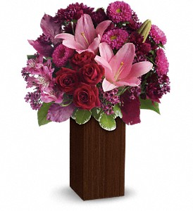 A Fine Romance by Teleflora in North Syracuse NY, The Curious Rose Floral Designs