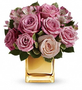 A Radiant Romance by Teleflora in Federal Way WA, Buds & Blooms at Federal Way